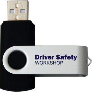 Express 8GB Twister USB Flash Drive